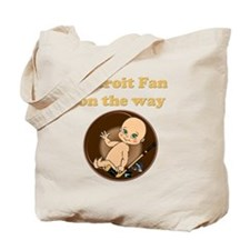 Detroit Fan on the way Tote Bag