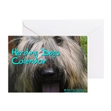 Herding Dogs CALENDAR Greeting Card
