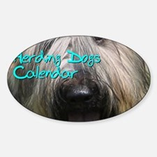 Herding Dogs CALENDAR Decal