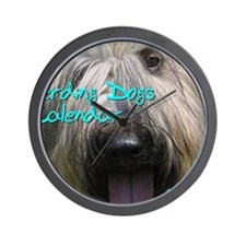 Herding Dogs CALENDAR Wall Clock
