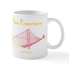 SF_10x10_GoldenGateBridge_Design3_Red_Y Mug