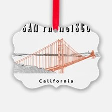SF_10x10_GoldenGateBridge_Design3 Ornament