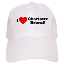 I Love Charlotte Bronte Cap