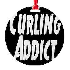 Curling addict Ornament