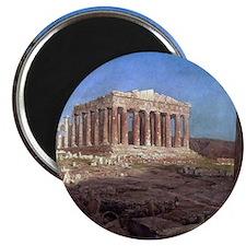 Frederic Edwin Church The Parthenon Magnet