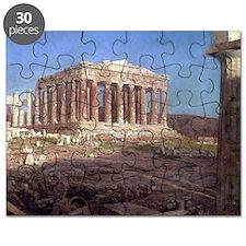 Frederic Edwin Church The Parthenon Puzzle