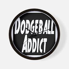 Dodgeball Addict Wall Clock