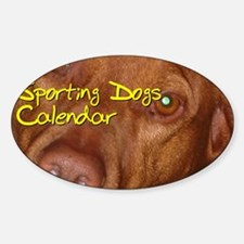 Sporting Dogs CALENDAR Decal