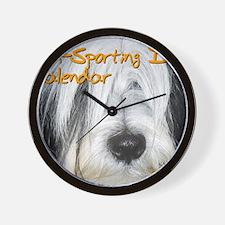 Non-Sporting Dogs CALENDAR Wall Clock