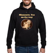 Minnesota Fan on the way Hoodie