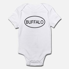 Oval Design: BUFFALO Infant Bodysuit