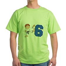 Martial Arts 6th Birthday T-Shirt