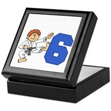 Martial Arts 6th Birthday Keepsake Box