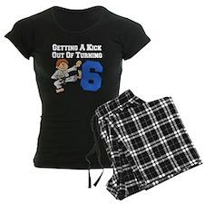 Martial Arts 6th Birthday Pajamas