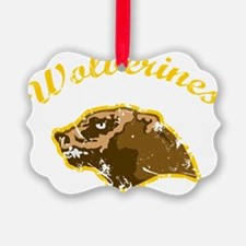 wolverines logo Ornament