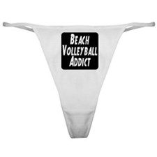 Beach Volleyball Addict Classic Thong