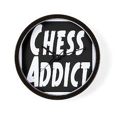 Chess Addict Wall Clock