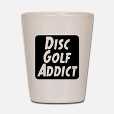 Disc Golf Addict Shot Glass
