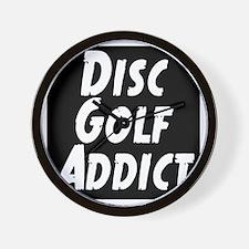 Disc Golf Addict Wall Clock