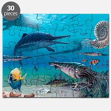 Ichthyosaur and prey Puzzle