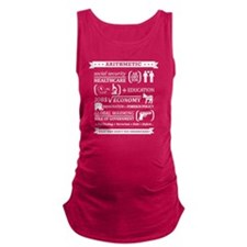 Republican Math Maternity Tank Top