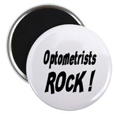 "Optometrists Rock ! 2.25"" Magnet (100 pack)"