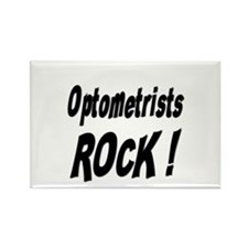 Optometrists Rock ! Rectangle Magnet (100 pack)