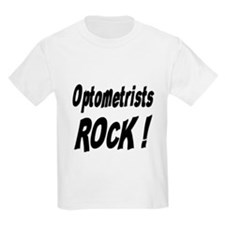 Optometrists Rock ! Kids T-Shirt