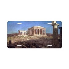 The Parthenon by Frederic E Aluminum License Plate