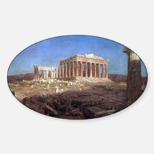 The Parthenon by Frederic Edwin Chu Decal