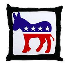 Democrat Party Donk... Throw Pillow