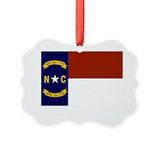 North Carolina United States Flag Ornament
