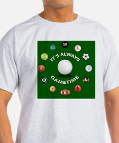 Gametime Coasters - Golf T-Shirt