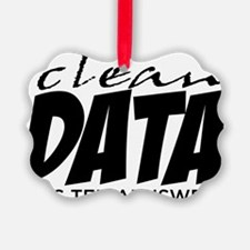 Clean Data is the Answer Ornament