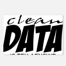 Clean Data is the Answer Postcards (Package of 8)
