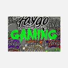 Faygo Gaming Logo Rectangle Magnet