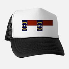 North Carolina United States Flag Trucker Hat