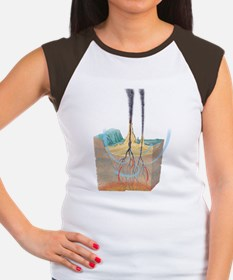Hydrothermal vents Women's Cap Sleeve T-Shirt