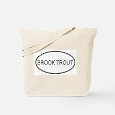 Oval Design: BROOK TROUT Tote Bag