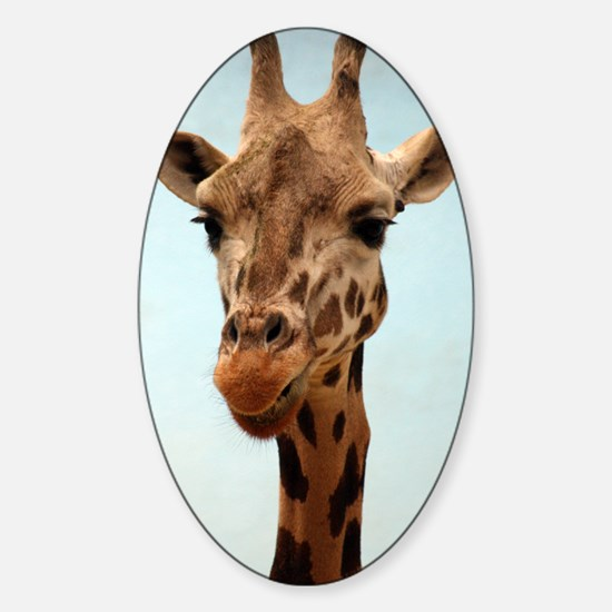 Giraffee Sticker (Oval)