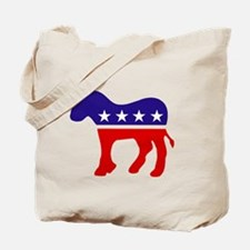 Democrat Donkey Tote Bag