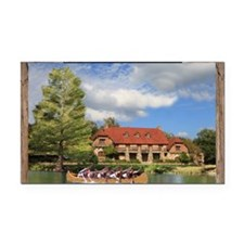 Waldemar Dining Hall Rectangle Car Magnet
