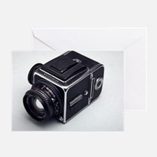 Medium format film camera Greeting Card
