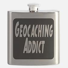 Geocaching addict Flask