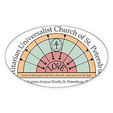 UU St Pete Church Logo Decal