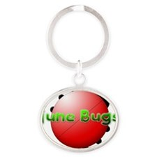 June Bugs 2012 Oval Keychain
