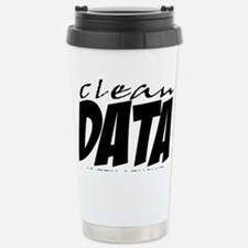 Clean Data is the Answer Stainless Steel Travel Mu