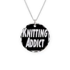 Knitting addict Necklace
