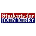 Students for John Kerry (bumper sticker)