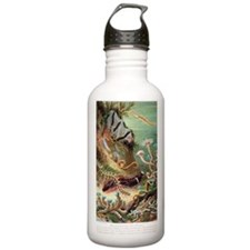 Marine worms, artwork Water Bottle